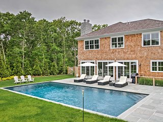 NEW! Luxury 5BR East Hampton Home w/Saltwater Pool