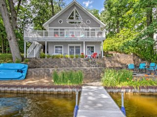 Lakefront Colon Home w/Serene Views & Private Dock