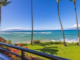 Epic REMODELED KULEANA 614 - OCEANFRONT, BEST VIEW, ONLY STEPS FROM THE WATER