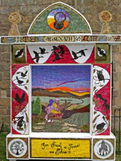 Well Dressing: Reading Room