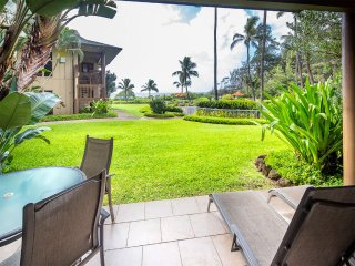 Lanai to Lawn! Chic Kitchen+Bath, Ceiling Fans, WiFi, Tile Floors–Kaha Lani 110