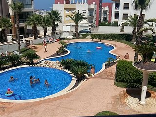 Beuatiful flat in Guardamar Hills with pool, four minutes from the Sea and Golf