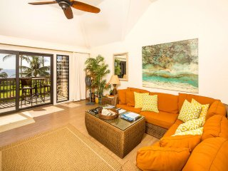 High Style+Great View! Gourmet Kitchen, Lanai, WiFi, Ceiling Fans, DVD–Kaha