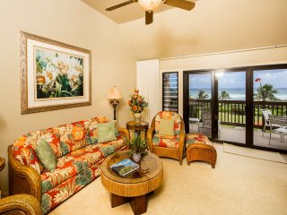 Luxe Upgrades+Prime View! Private Lanai, Modern Kitchen, DVD, WiFi–Kaha Lani 310