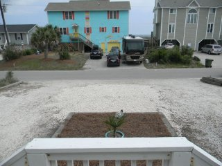 Ocean Drive! 3BR/2BA Duplex steps to the beach!