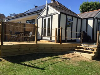 Private decking area, south facing