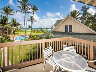 Island Vibe Suite w/Ocean Vista Lanai, Kitchen Ease, WiFi, Ceiling Fans–Kaha