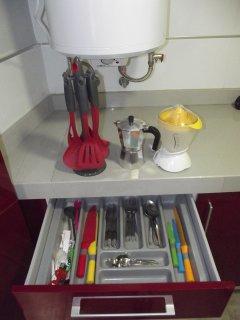 Algunos utensilios de cocina