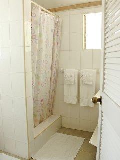 The en-suite bathroom for bedroom three