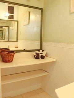 Vanity in the master en-suite bathroom