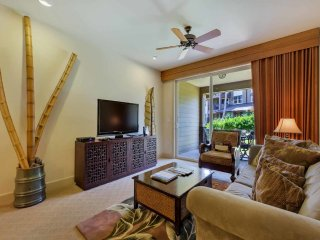 Tropic Style w/Full Kitchen, Lanai to Lawn, Laundry, AC, WiFi–Halii Kai