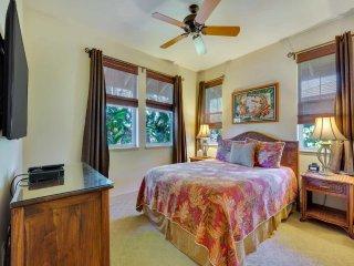 Family Pick w/Lanai to Lawn, Kitchen Ease, AC, Laundry, WiFi–Halii Kai Waikoloa