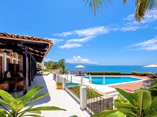 4 BR Ocean  front Villa at exclusive Conchas Chinas ,you will love it!