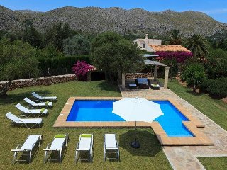 4 bedroom Villa in Cala San Vicente, Balearic Islands, Spain : ref 5506508