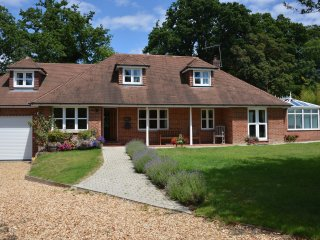 'Mews Hill' a New Forest 5 bedroom Chalet style property that sleeps 11guests