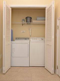 Separate laundry room