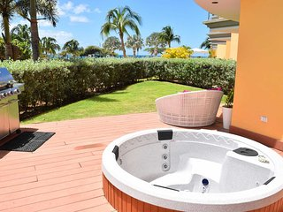 Beach Garden One-bedroom condo - E124-2 - BEACHFRONT - EAGLE BEACH