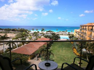 Top View One-bedroom condo - P514 - BEACHFRONT - EAGLE BEACH
