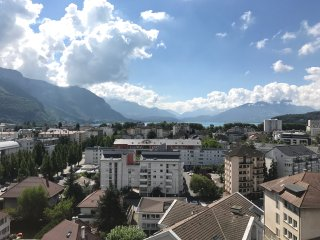 Annecy VUE À 360° : Rooftop , Terrasse 170m2, Standing, 6 pers