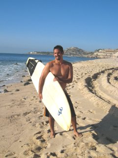 Walk to the best surfing in Los Cabos at Zippers Beach.