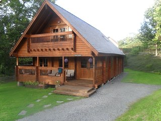 front/side of lodge