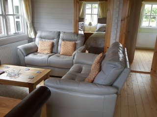 Self Catering Holiday Lodges with hot tubs located in the Scottish Borders.