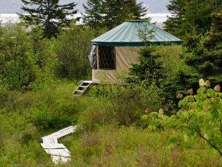 The Green Wilderness Yurt