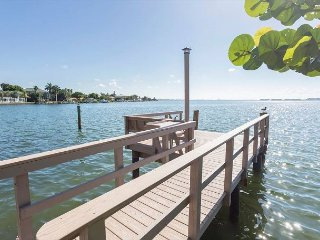 Waterways, Sunrise, Fishing on the Dock, Newly Remodeled St. Pete Beach Home