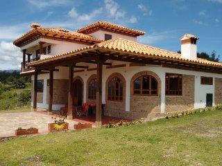Linda casa con vista espectacular Villa de Leyva