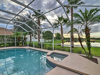 New! 5BR Wesley Chapel Home w/ Private Pool!