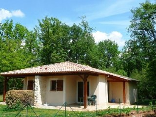 Comfortable semi-detached villa in the south of the Dordogne