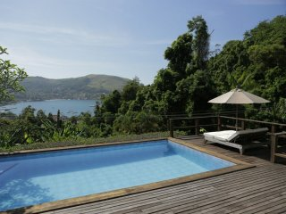 Ang302 - Beautiful house with pool in the wildness of Angra dos Reis