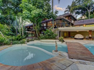 Ang016-Authentic and luxurious mansion in Mangaratiba with private pool & garden