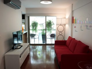 Rio100-Charming apartment at Rodrigo de Freitas Lagoon on Ipanema side