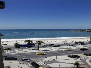 Rio087-Contemporary 2 bedrooms apartment in Copacabana with ocean view