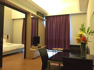 KL City SwissGarden 1BR Unlimited Wifi 1308 吉隆坡市套房