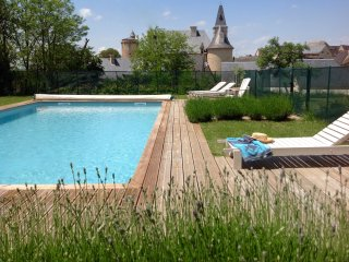 Gite Noisette a spacious stylish gite with a swimming pool