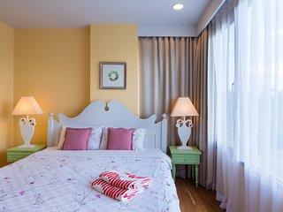 Baan SanSuk Beachfront Condominium HuaHin_GDF Two Bedrooms Apartment,Garden View