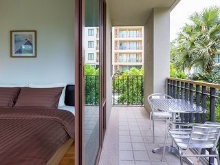 Baan SanSuk Beachfront Condominium HuaHin_HBF Two Bedrooms Apartment,Garden View