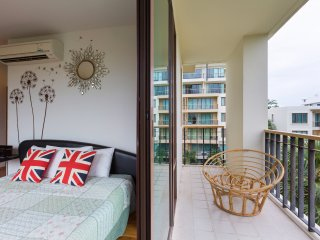 Baan SanSuk Beachfront Condominium HuaHin_HDF Two Bedrooms Apartment,Garden View