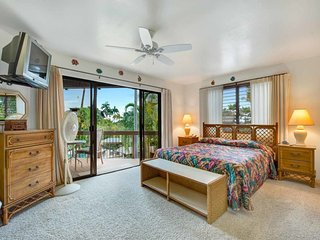 Casual Kona Living w/Full Kitchen, WiFi, TV, Washer/Dryer, Resort