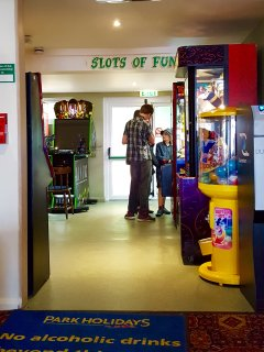 Amusements in clubhouse