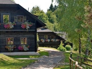 Authentically furnished apartment with balcony, in Carinthia