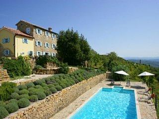 Casa Amelie - wunderbares Ferienhaus mit Pool  in Traumlage, holiday rental in Vizintini Vrhi