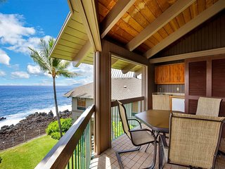 Great Pacific View+2-Level Privacy! WiFi, Kitchen+Laundry Ease, TV, Lanai