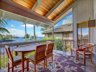 Luxe Family Fit! Great Ocean View, Gourmet Kitchen, Laundry, Lanai, WiFi