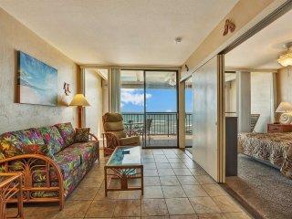 Surf+Sunset Lanai View, Luxe Kitchen, WiFi, Flat Screen, Washer/Dryer–Kona Bali