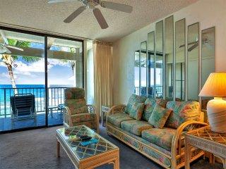 Easy Ocean Life w/Sunset View, Large Lanai, Kitchen, Washer/Dryer–Kona Bali Kai