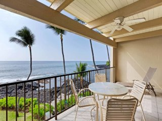 Pacific Ocean Beauty! Full Kitchen+Washer/Dryer, WiFi, Ceiling Fans–Kona Bali