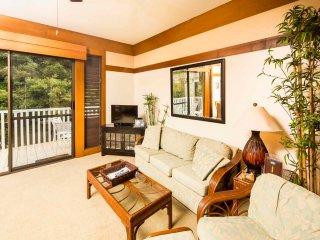 High Upgrades+Island Style! Open Kitchen, Lanai, WiFi–Kiahuna Plantation #2425